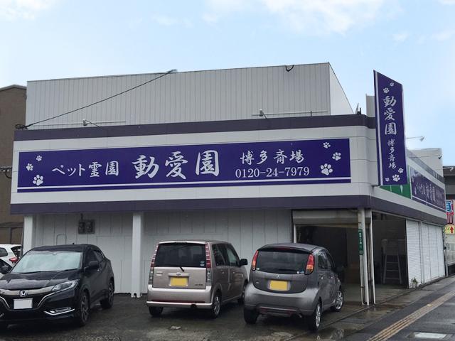 福岡 ペット斎場 動愛園 博多斎場様